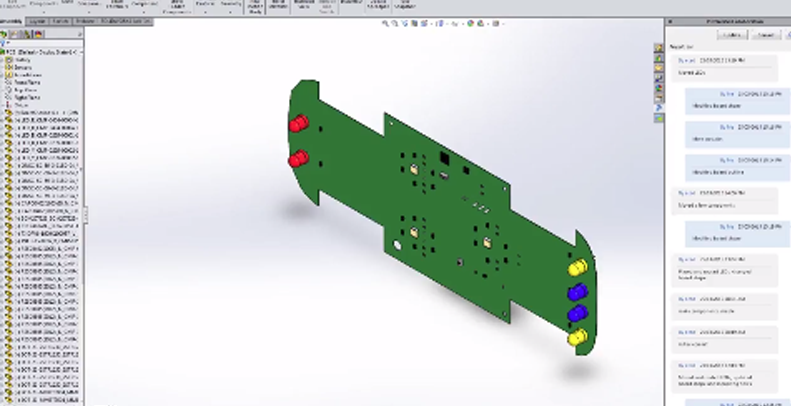 Video-solidworks-pcb-connector-mycad