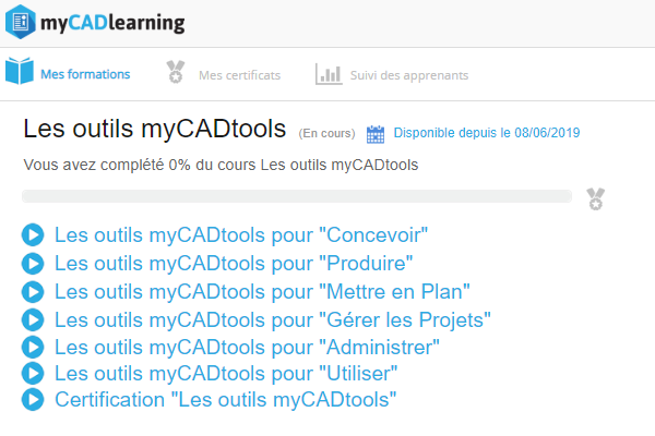 formation myCADtools SOLIDWORKS
