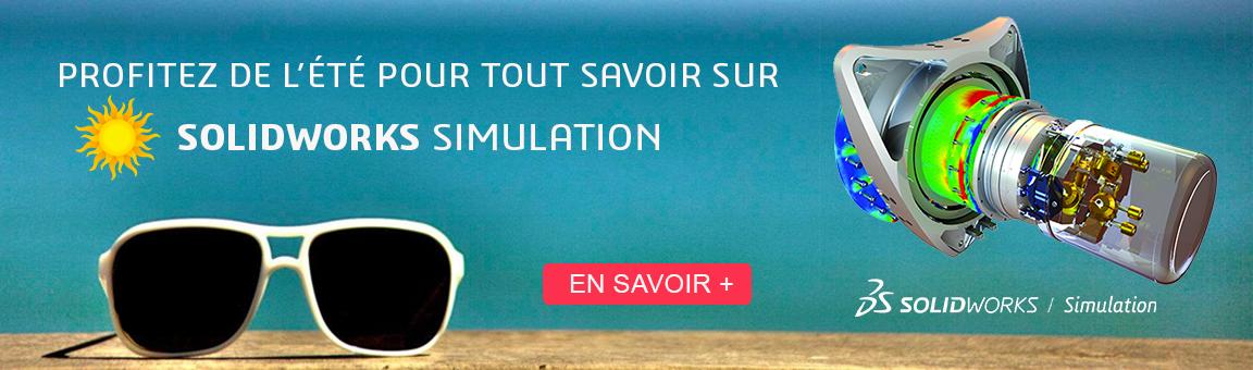 Bannière SOLIDWORKS Simulation